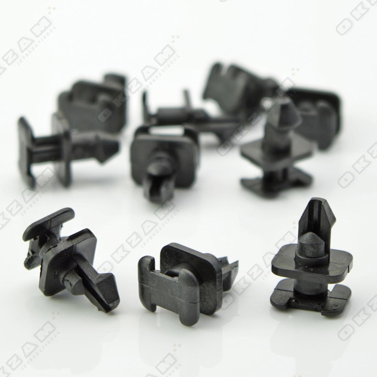 10x wasserablauf windabweiser gitter befestigung clips f r. Black Bedroom Furniture Sets. Home Design Ideas