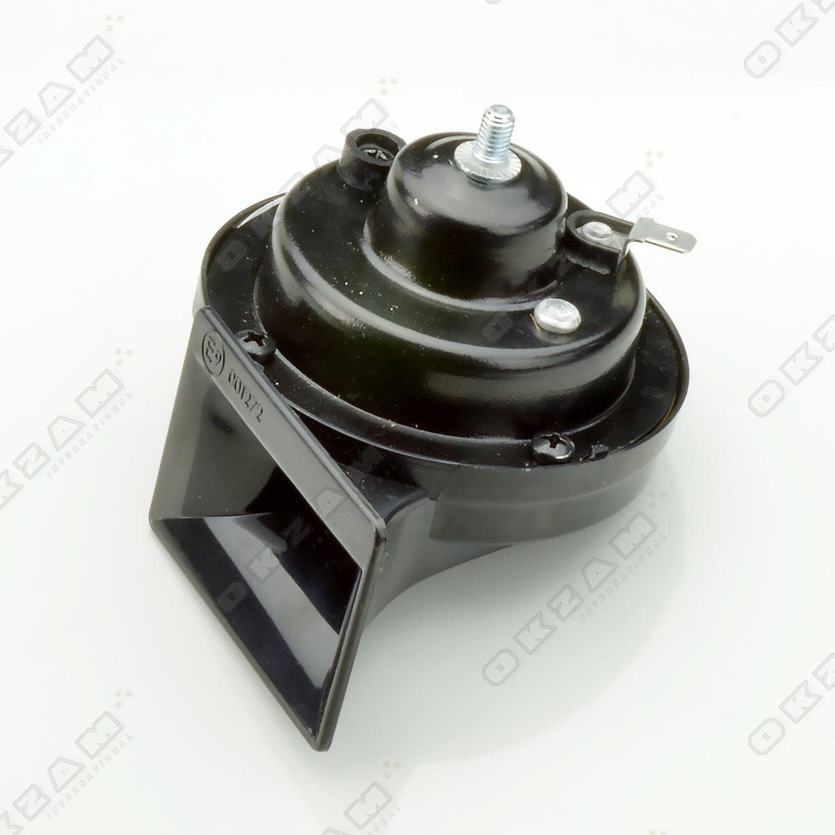 1x signalhorn hupe signalanlage hochton schwarz f r fiat. Black Bedroom Furniture Sets. Home Design Ideas