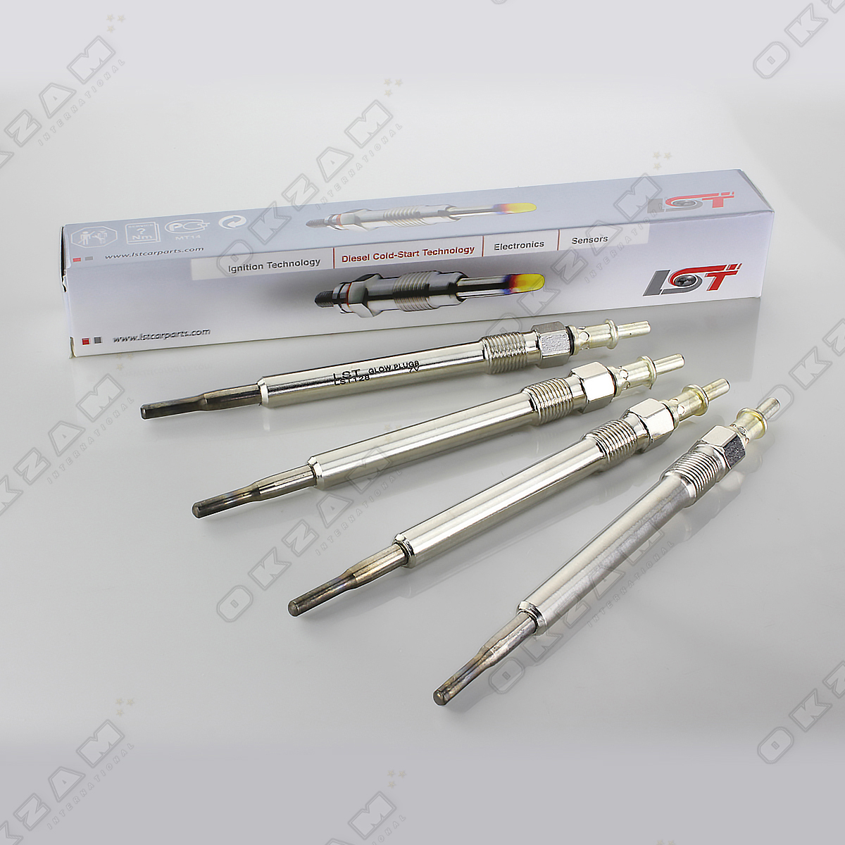 4x glow plug pencil glow plug mercedes benz c class w204 for Mercedes benz glow plugs